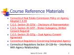 course reference materials