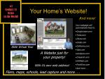 your home s website