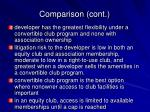 comparison cont24
