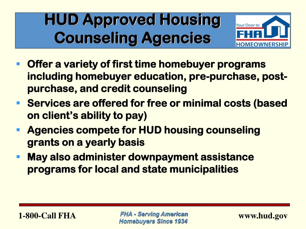 HUD Approved Housing