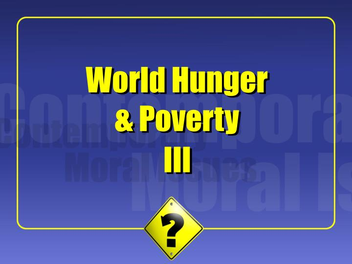 john arthur world hunger and moral obligation World hunger and morality  rev ed of: world hunger and moral obligation c1977  john arthur, rights and the duty to bring aid.