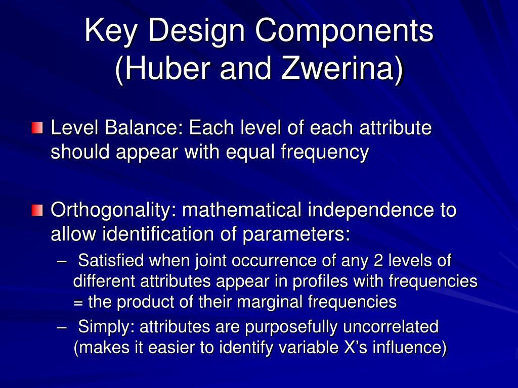 Key Design Components