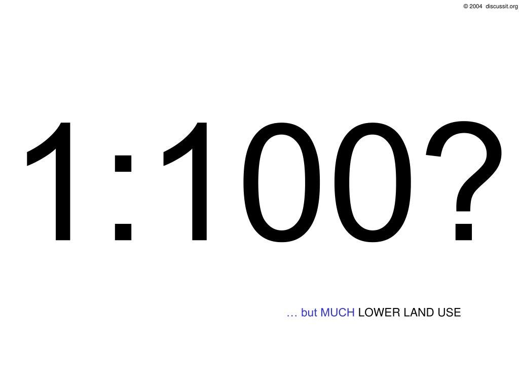 1:100?