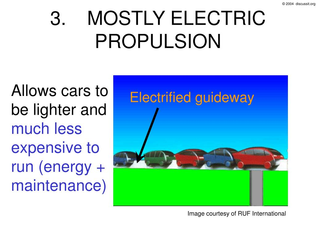 3. MOSTLY ELECTRIC PROPULSION