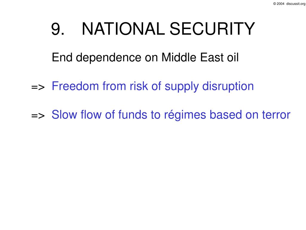 9.NATIONAL SECURITY