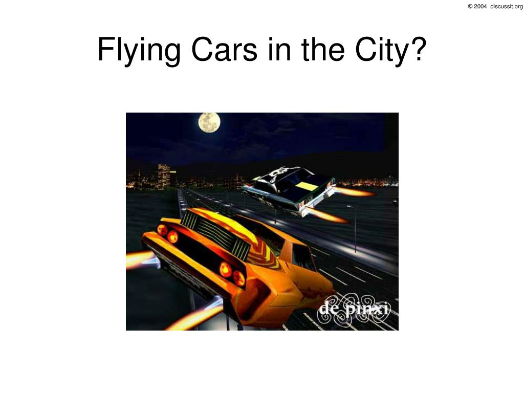 Flying Cars in the City?
