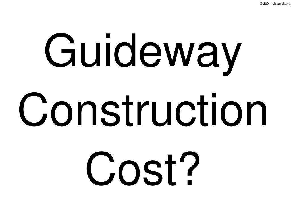 Guideway
