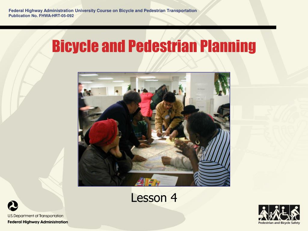 bicycle and pedestrian planning l.
