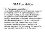 naa foundation