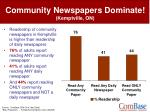 community newspapers dominate kemptville on