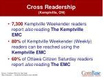 cross readership kemptville on