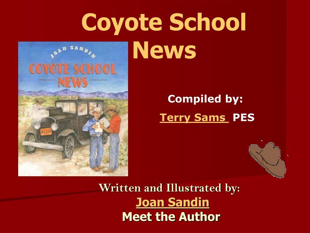 coyote school news l.