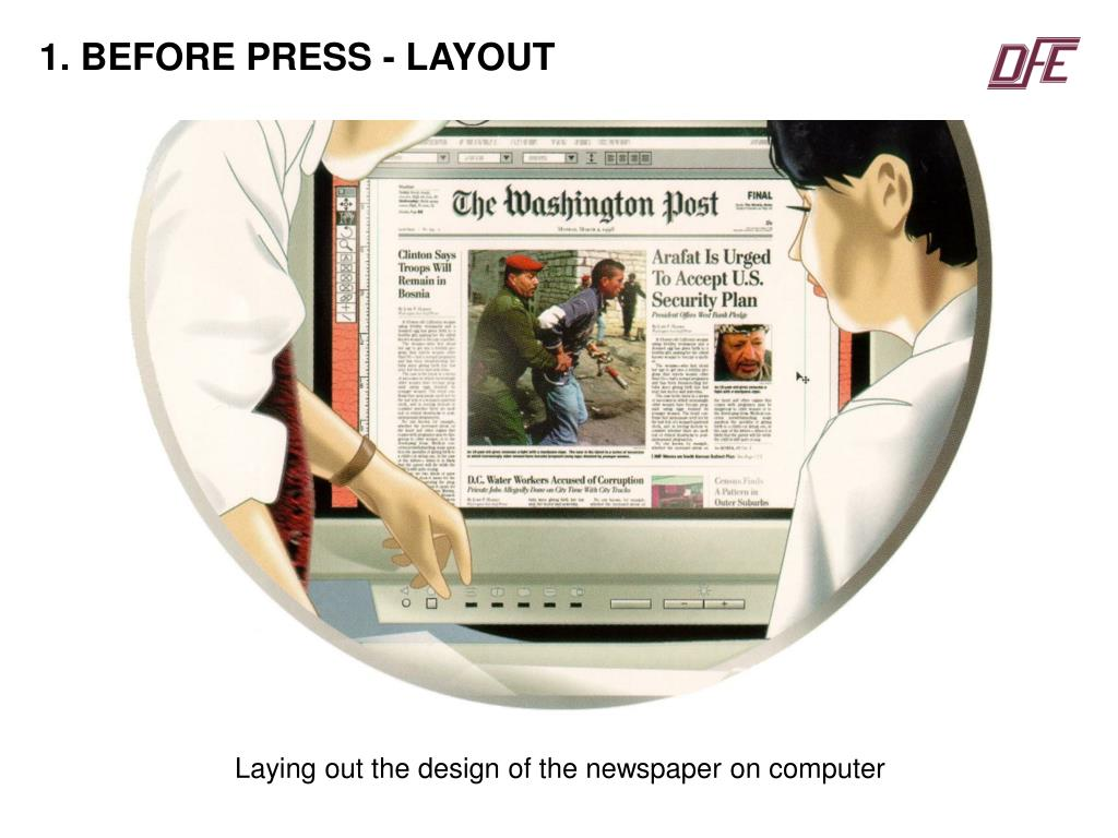 1. BEFORE PRESS - LAYOUT