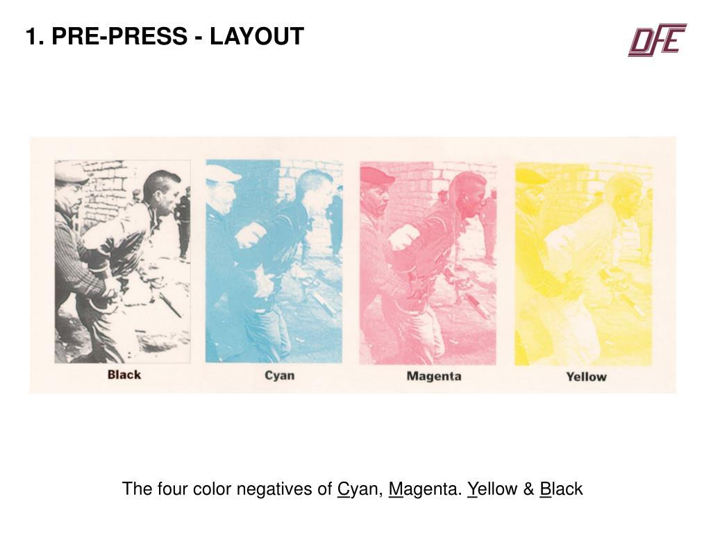 1. PRE-PRESS - LAYOUT