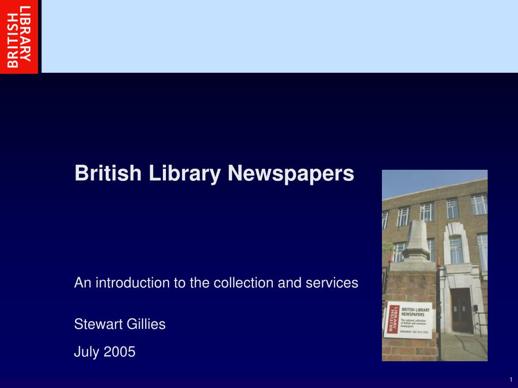 british library newspapers l.
