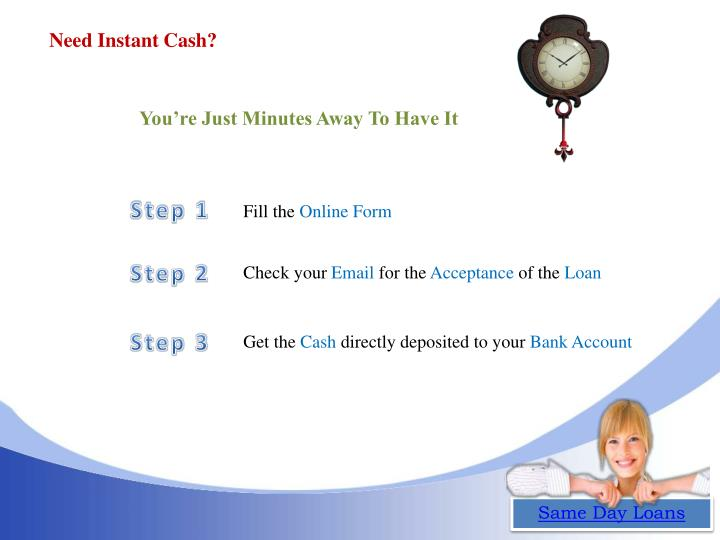Need Instant Cash?
