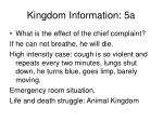 kingdom information 5a