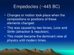 empedocles 445 bc20