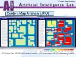 content map analysis jpo