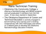 nano technician training25