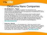 oklahoma nano companies