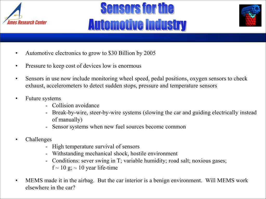 Sensors for the
