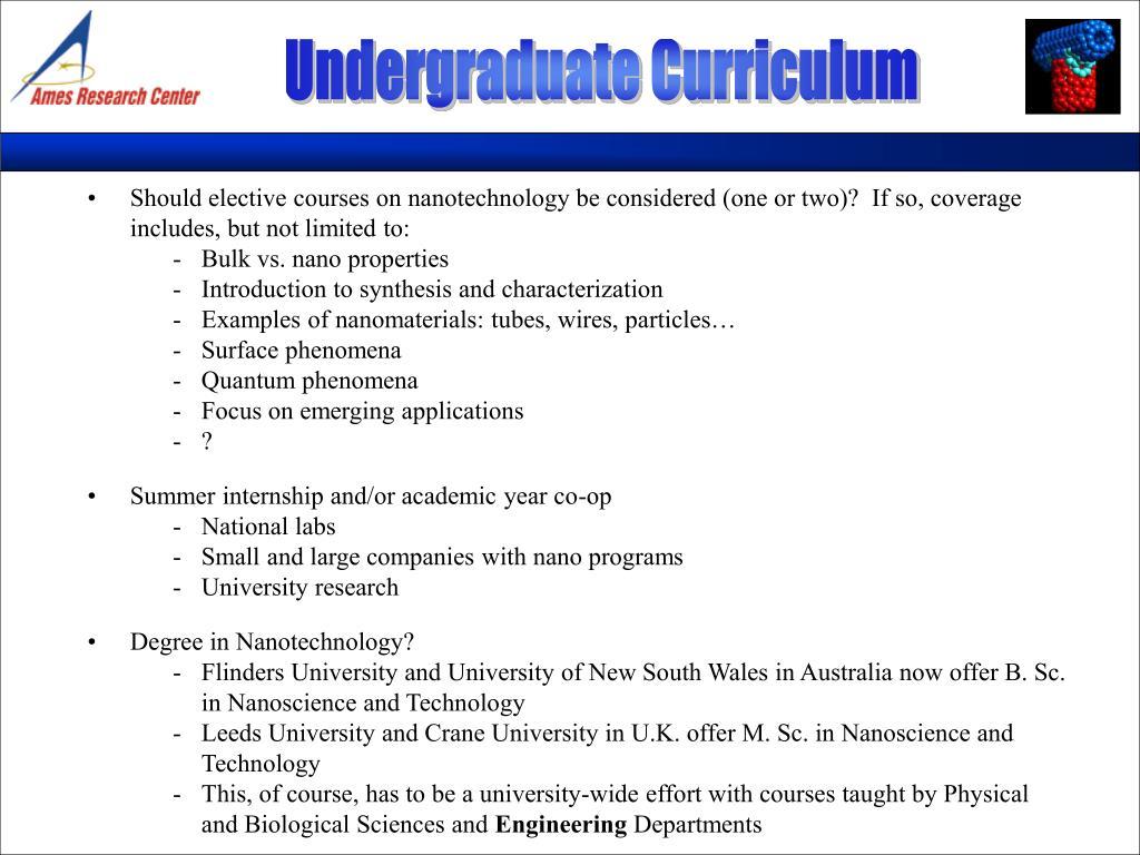 Undergraduate Curriculum