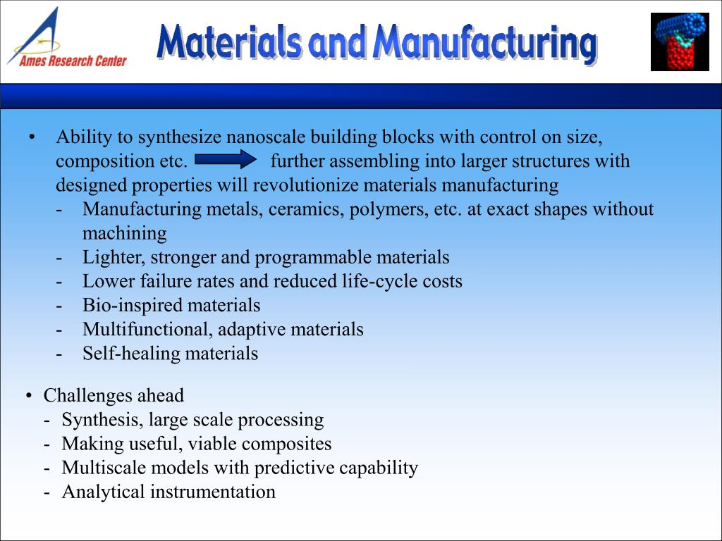 •Ability to synthesize nanoscale building blocks with control on size,