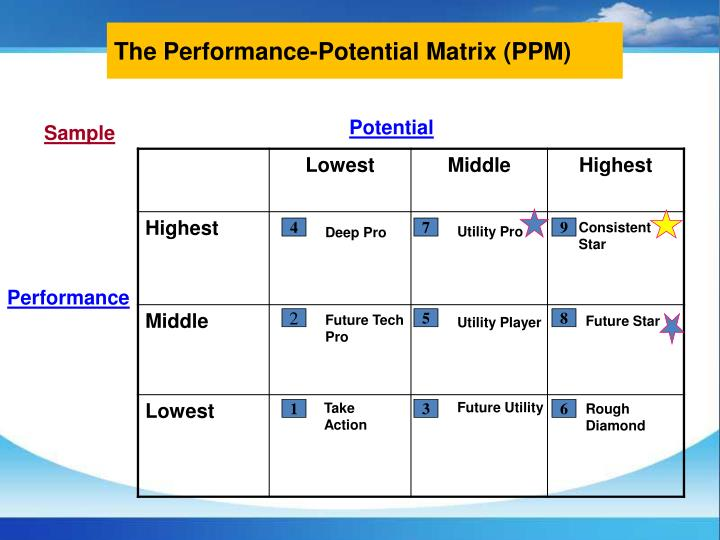 The Performance-Potential Matrix (PPM)