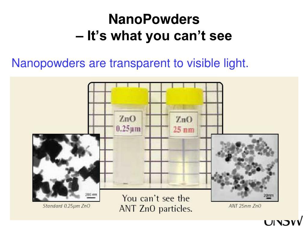 NanoPowders