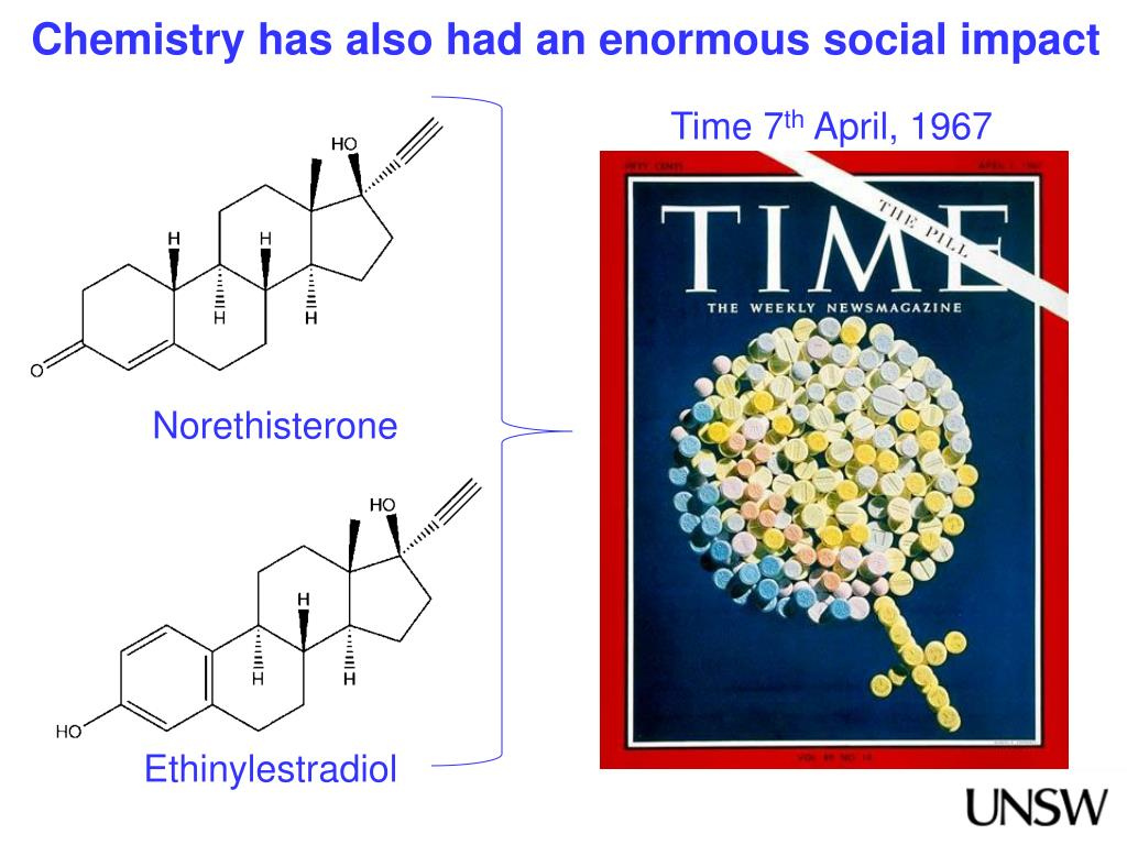 Chemistry has also had an enormous social impact
