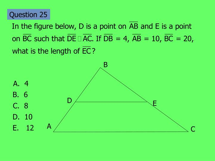 Question 25