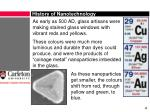 history of nanotechnology