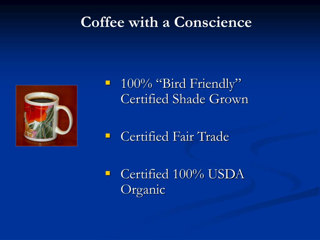 Coffee with a Conscience