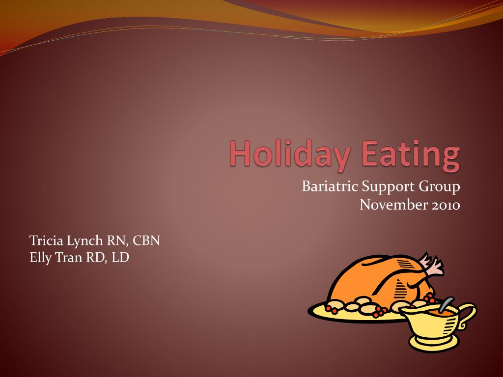 holiday eating l.