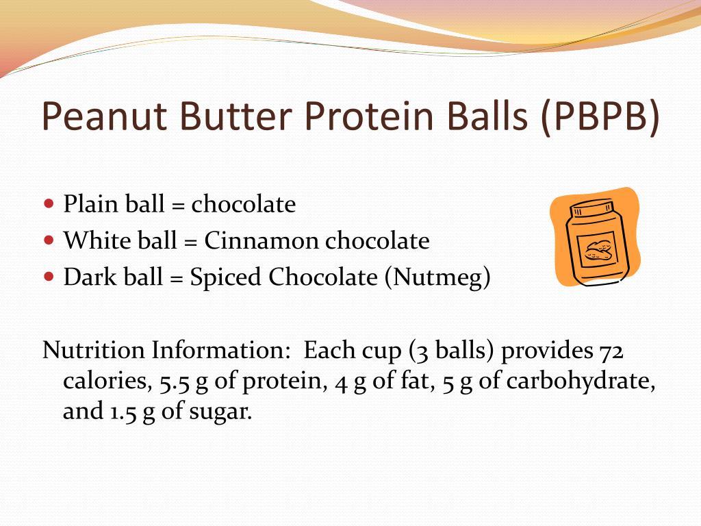 Peanut Butter Protein Balls (PBPB)