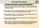 beverage perceptions