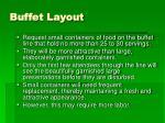 buffet layout38
