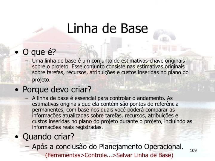 Linha de Base