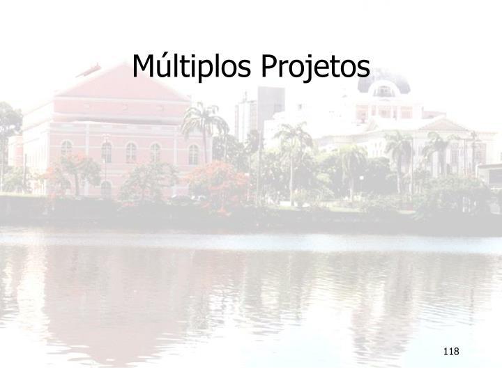 Múltiplos Projetos