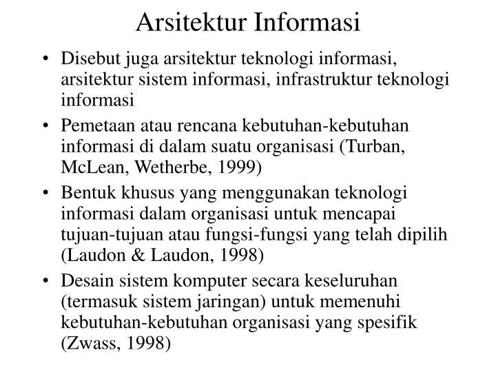 Arsitektur Informasi