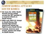 north korea attacks south korea