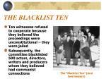 the blacklist ten