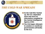 the cold war spreads