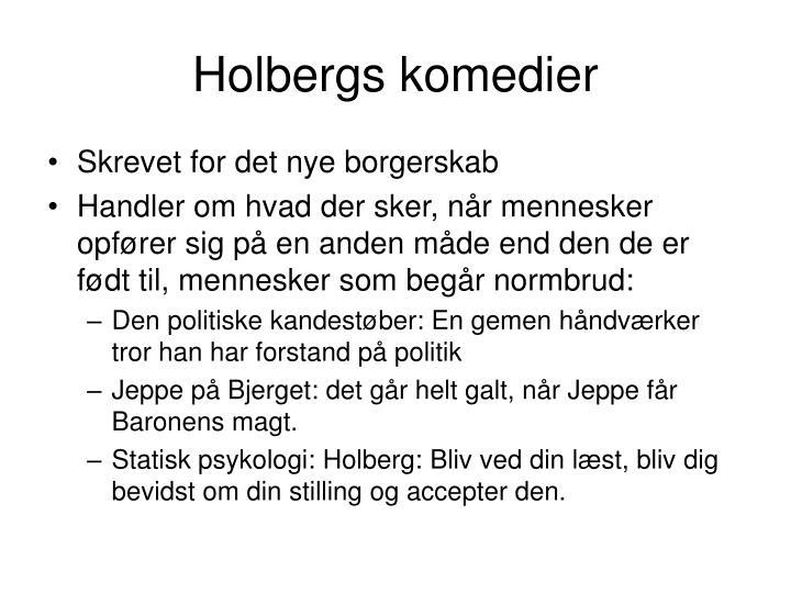 Holbergs komedier
