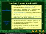 television changes american life23