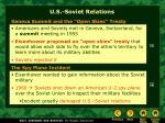 u s soviet relations
