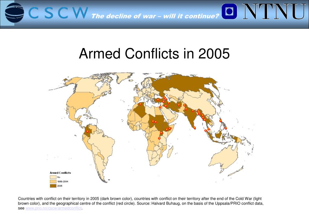 Armed Conflicts in 2005