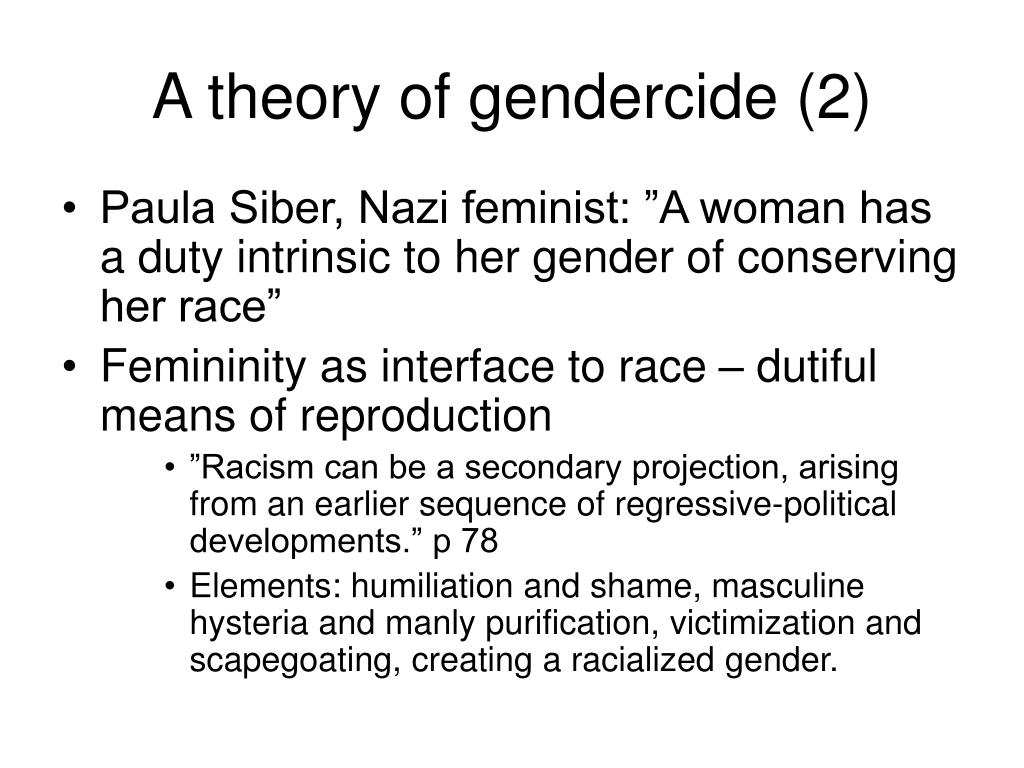 A theory of gendercide (2)