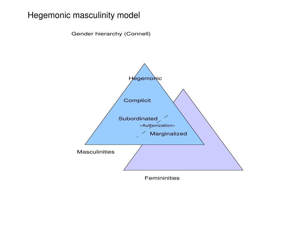 Hegemonic masculinity model